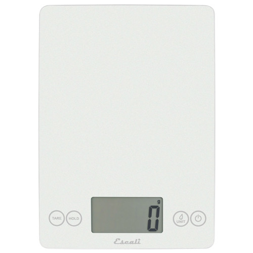 Arti Glass Digital Kitchen Scale, White