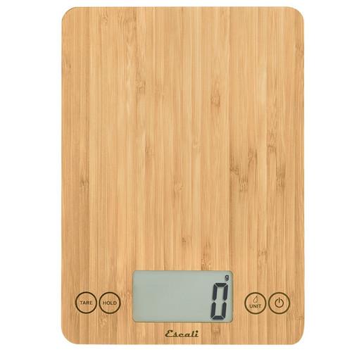 Arti Digital Kitchen Scale, Bamboo