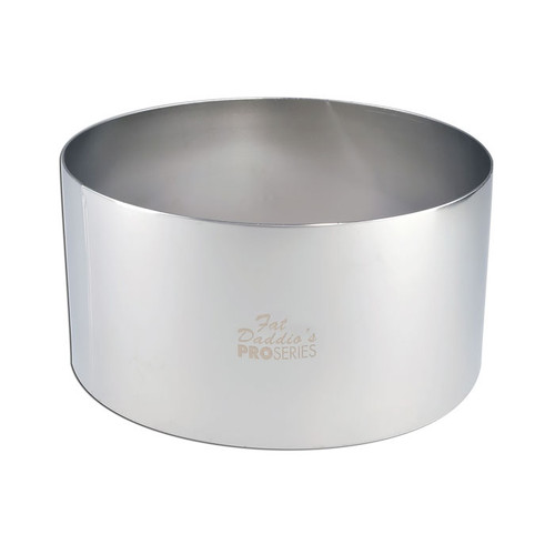 Pastry Baking Ring - Stainless Steel, 6 x 3-in