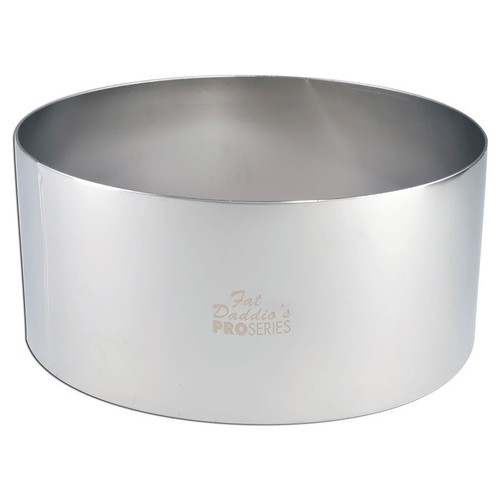 Pastry Baking Ring - Stainless Steel, 8 x 3-in