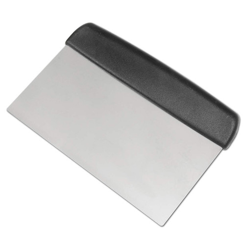 Bench Scraper - Stainless Steel, 5 x 7-in