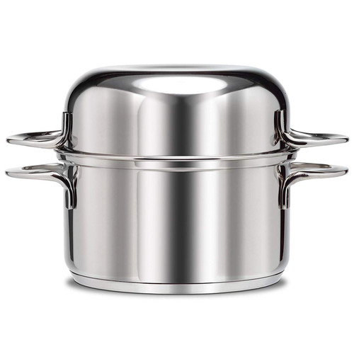 Mussel Pot - Stainless Steel