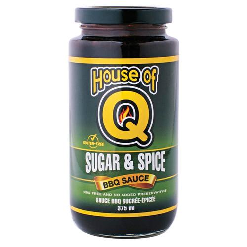 Sugar & Spice BBQ Sauce, 375ml