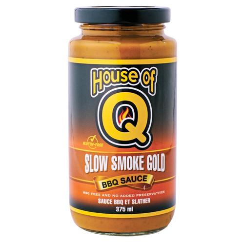 Slow Smoke Gold BBQ Sauce, 375ml