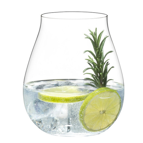 Gin O'Clock Glasses, Set of 4