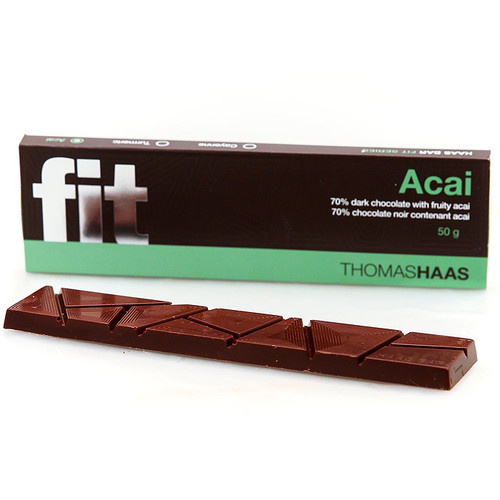 Dark Chocolate Bar 70% - Fit Acai, 50g
