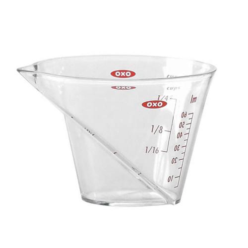 Angled Mini Measuring Cup, 60ml