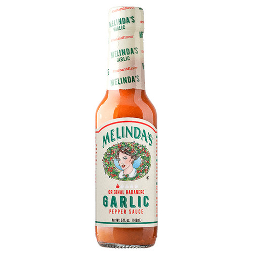 Garlic Habanero Hot Sauce, 148ml