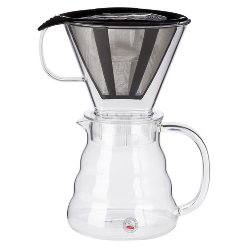 Melior Coffee Dripper - Permanent Filter, 0.6L