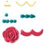 Decorative Tip and Coupler Set - Round #3 + Star #18 + Petal #104