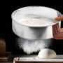 Drum Flour Sieve - Stainless Steel, 16cm