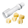 Butter & Cookie Mould with Ejector - Assorted, Set of 6