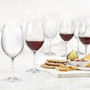 Serene Red Wine Glasses , Set of 6