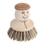 Pot Brush - Natural Fiber, 6.5cm