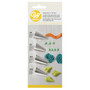 Specialty Icing Tip Set - #44 + #83 + #105 + #353