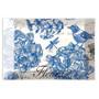 Indigo Cotton Glass Soap Dish