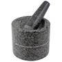 Sesame Dual Mortar & Pestle - Granite, 3.25-in