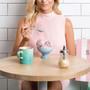Coffee Mugs Gift Set - Sorbet Collection, Set of 6
