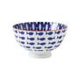 Kiri Porcelain Small Bowl - Fish, 4.5-in