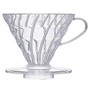 V60 Coffee Dripper 02, Clear