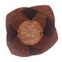 Muffin Baking Cup - Brown Tulip  style,  Pack of 24