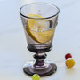 Bee Wine Glass - Eggplant, 9oz