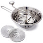 Food Mill Set - Stainless Steel, 9.5-in