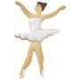 Ballerina Cookie Cutter, 11cm