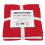 Dishtowels Red - Floursack, Set of 3