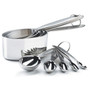Measuring Cups & Spoons Set - Stainless Steel