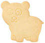 Bear Detailed Cookie Cutter, 8cm
