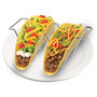 Double-Sided Taco Rack - Chrome Finish, Set of 2