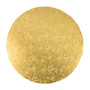 Round Cake Drum - Thick Gold, 10-in