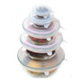Stretch Lids Silicone - Assorted Sizes, Set of 5
