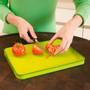 Cut & Carve Plus Cutting Board - 15 x 11.5-in, Green