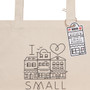 Small Business - Cotton Tote Bag, 18 x 15-in