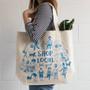 Shop Local - Cotton Tote Bag, 18 x 15-in