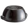 Round Bread Baker - Fusain