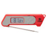 Folding Thermocouple Cooking Thermometer, Red