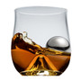 Rox & Roll Set Glass + Stainless Steel Ice Ball