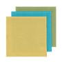 Waffle Dishcloths - Chartreuse + Turquoise + Leaf, Box of 3