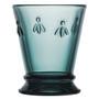 Bee Glass Tumbler - Night Sky Blue, 9.5oz