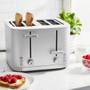 Toaster Enfinigy - 4-Slice, Silver