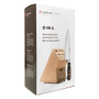 Cook's Knife - Classic Series + Free Knife Block, 20-in