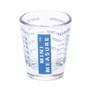Multi-Purpose Mini Measure - Glass, Blue