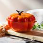 Flame Pumpkin Cocotte - Cast Iron, 2.0L