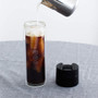 Hot & Cold Brew Bottle - Borosilicate Glass, 12oz