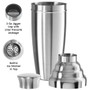 Jumbo Party Cocktail Shaker - Brushed Stainless, 1.75L
