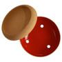Storage Bowl Large With Cork, Grand Cru Red