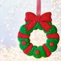 Christmas XXL Wreath Detailed Cookie Cutter, 18cm